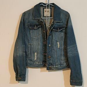 Mudd DENIM Jean jacket sz large